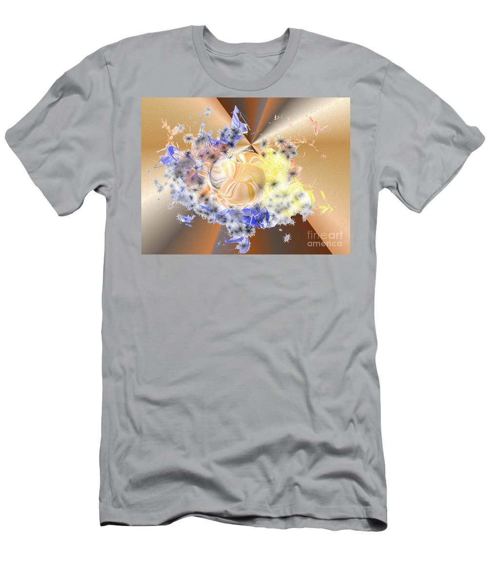 Men's T-Shirt (Athletic Fit) featuring the digital art No. 924 by John Grieder