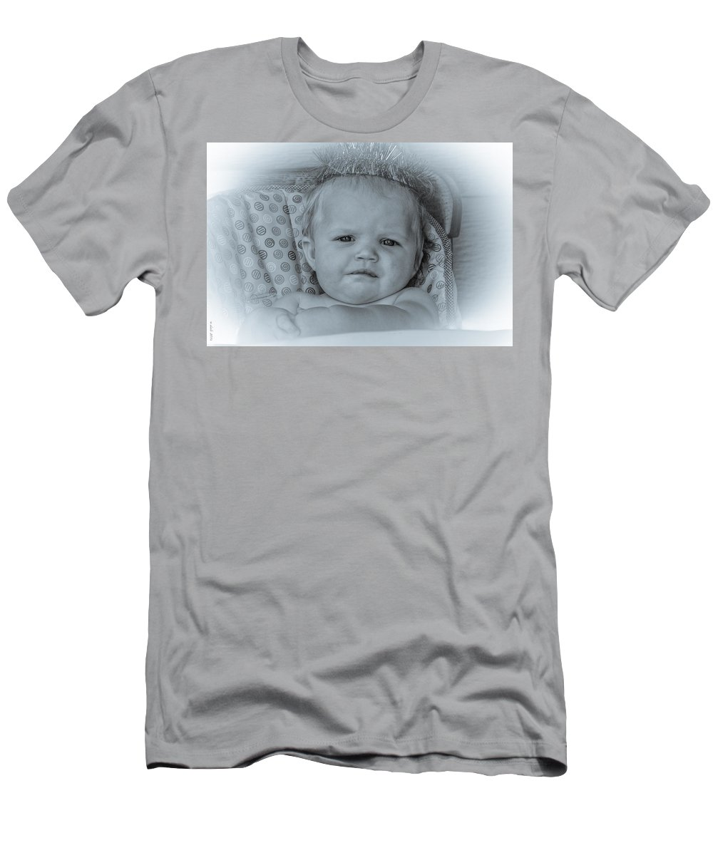 Portrait Men's T-Shirt (Athletic Fit) featuring the photograph One More Reason by M Dale