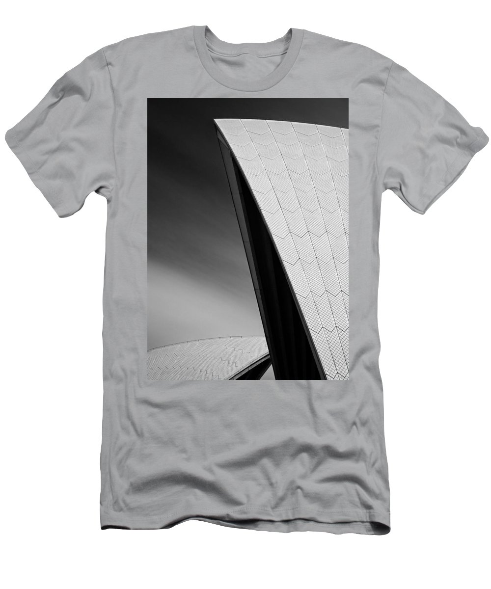 Sydney Opera House Men's T-Shirt (Athletic Fit) featuring the photograph Opera House by Dave Bowman