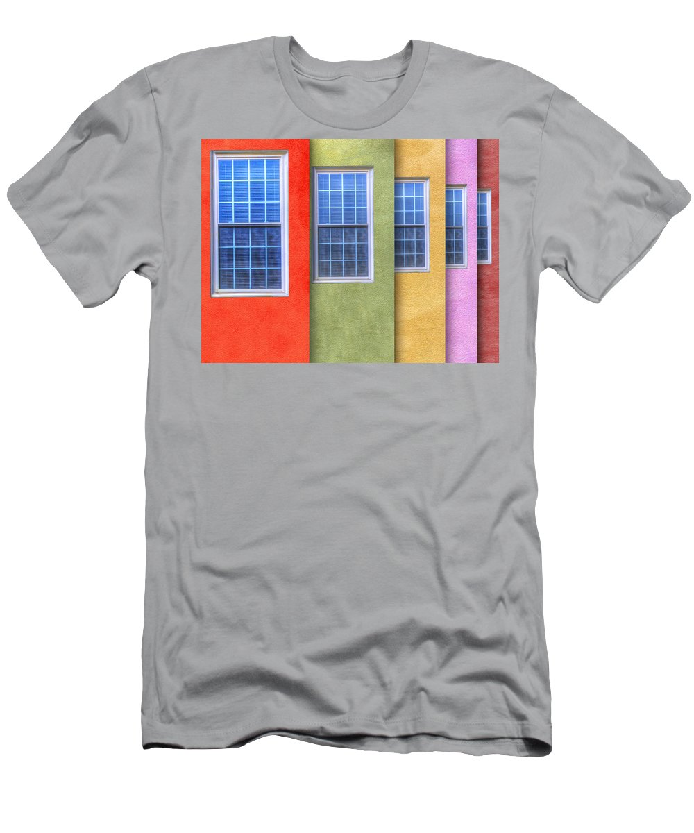 Photography Men's T-Shirt (Athletic Fit) featuring the photograph Pastel by Paul Wear