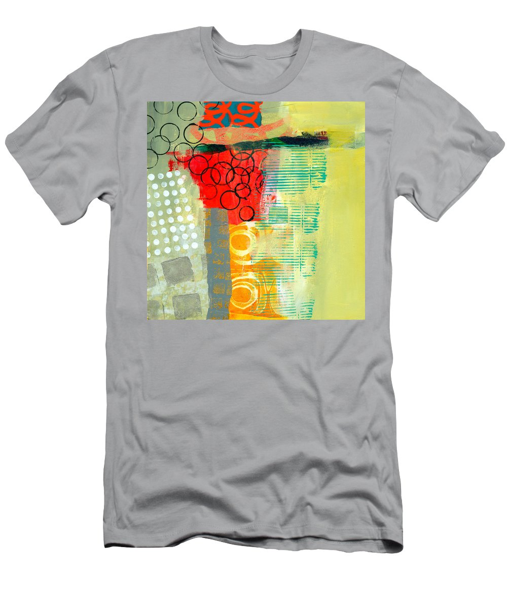Pattern T-Shirt featuring the painting Pattern Study #3 by Jane Davies