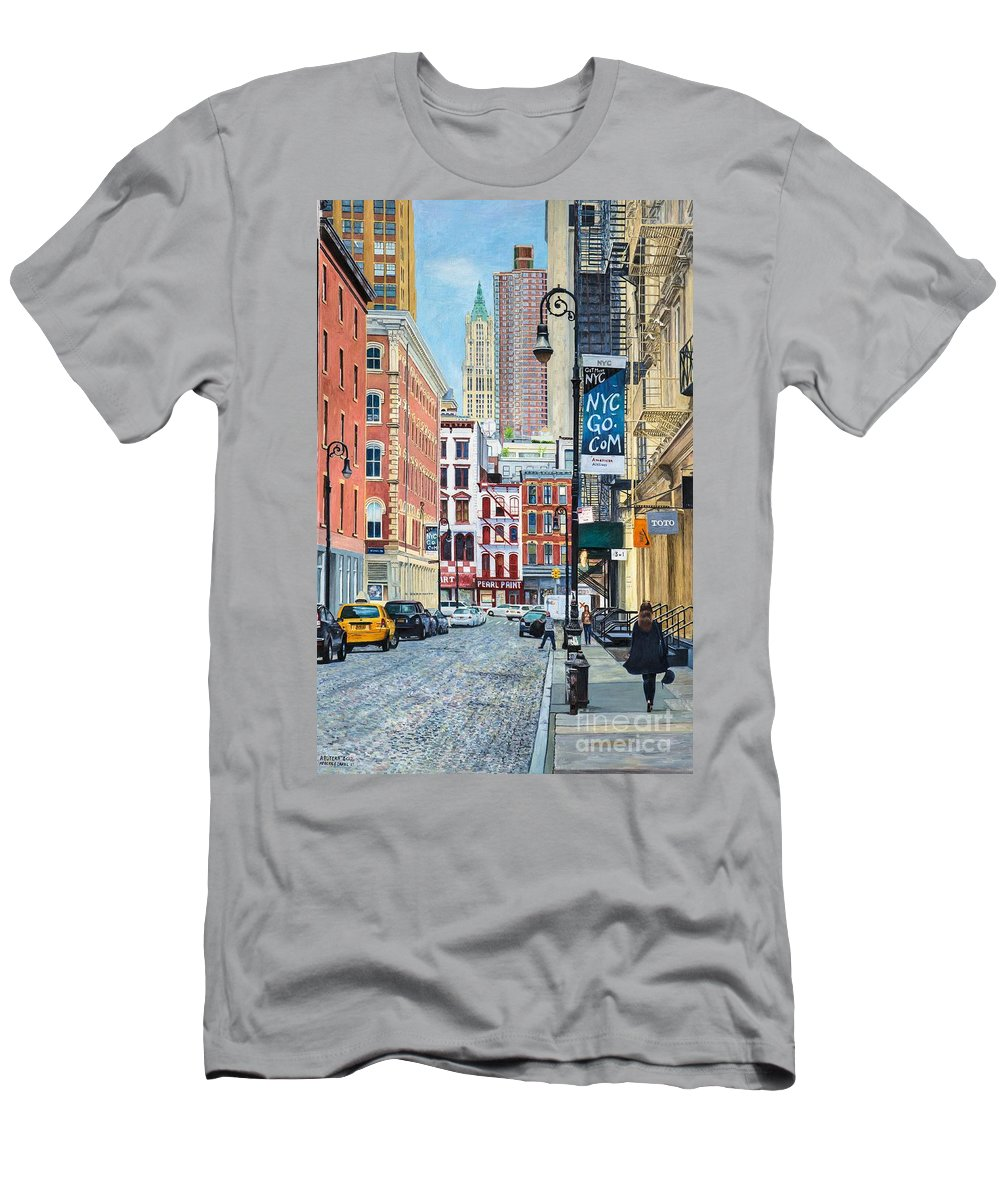 Pearl Paint Canal St. From Mercer St. Nyc T-Shirt for Sale by ...