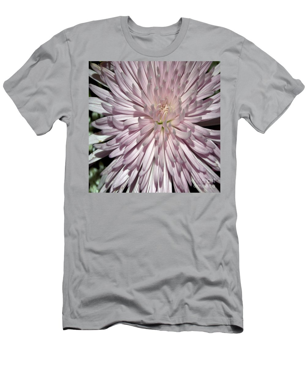 Pictures Of Flowers Men's T-Shirt (Athletic Fit) featuring the photograph Pink Duvet Cover by Skip Willits
