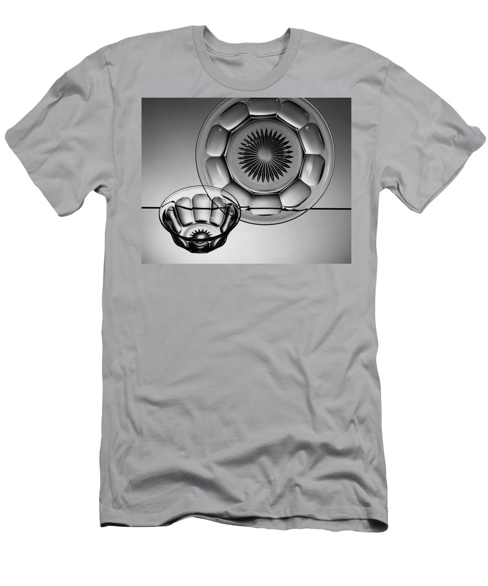 Home Accessories T-Shirt featuring the photograph Plate And Bowl by Martinus Andersen