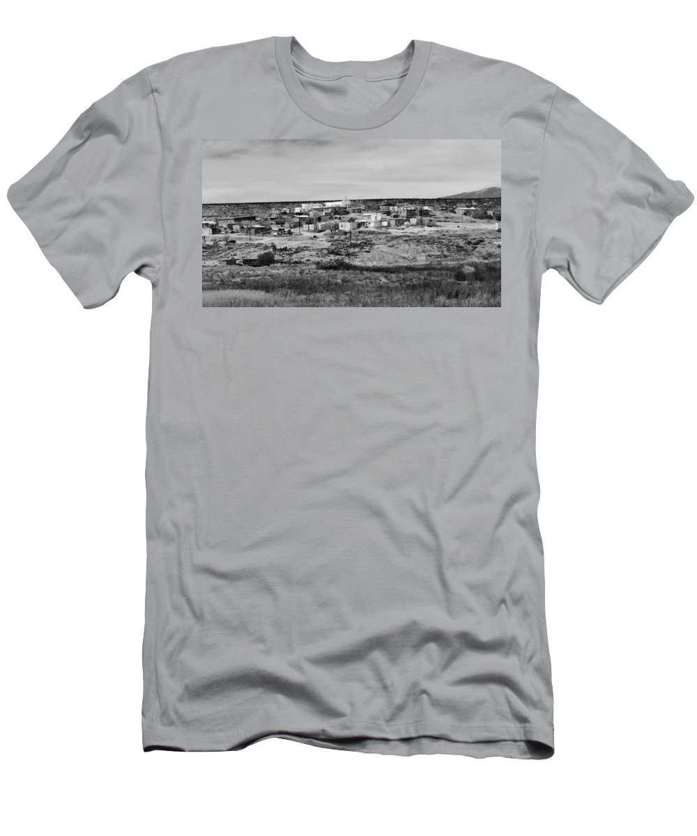Southwest Men's T-Shirt (Athletic Fit) featuring the photograph Pueblo Landscape by Along The Trail