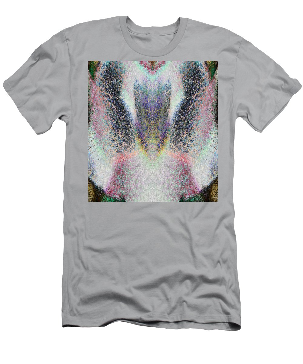 Radiant Men's T-Shirt (Athletic Fit) featuring the painting Radiant Seraphim by Christopher Gaston