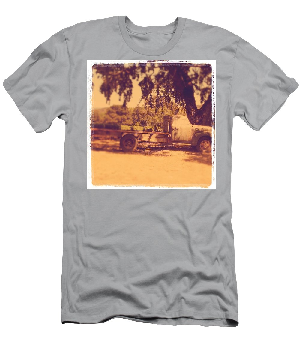 California Men's T-Shirt (Athletic Fit) featuring the photograph Ready To Work by Jean Macaluso
