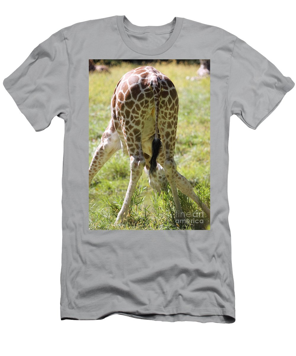 Clumsy Men's T-Shirt (Athletic Fit) featuring the photograph Rear View by Rick Kuperberg Sr