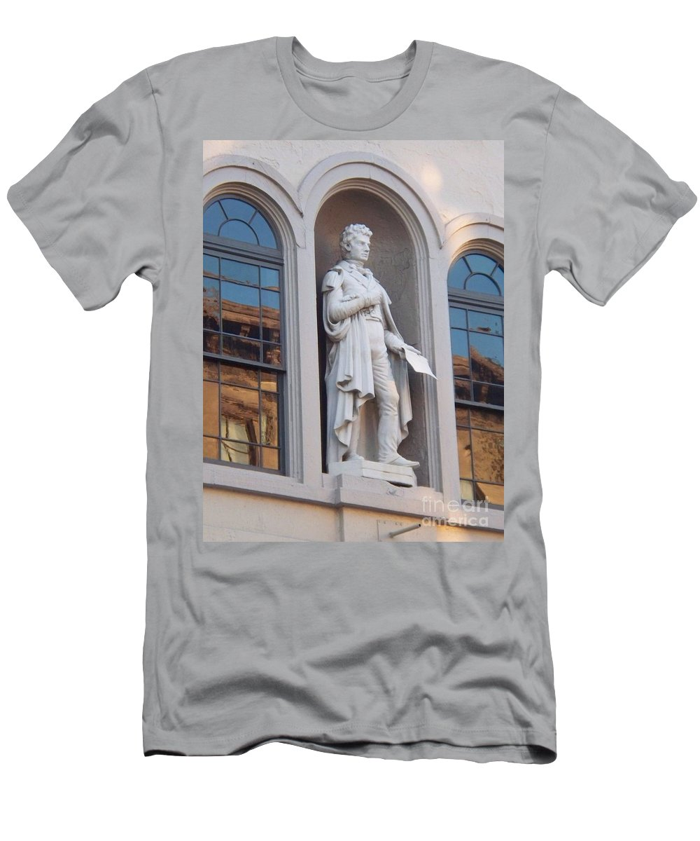 Robert Fulton Men's T-Shirt (Athletic Fit) featuring the photograph Robert Fulton by Eric Schiabor