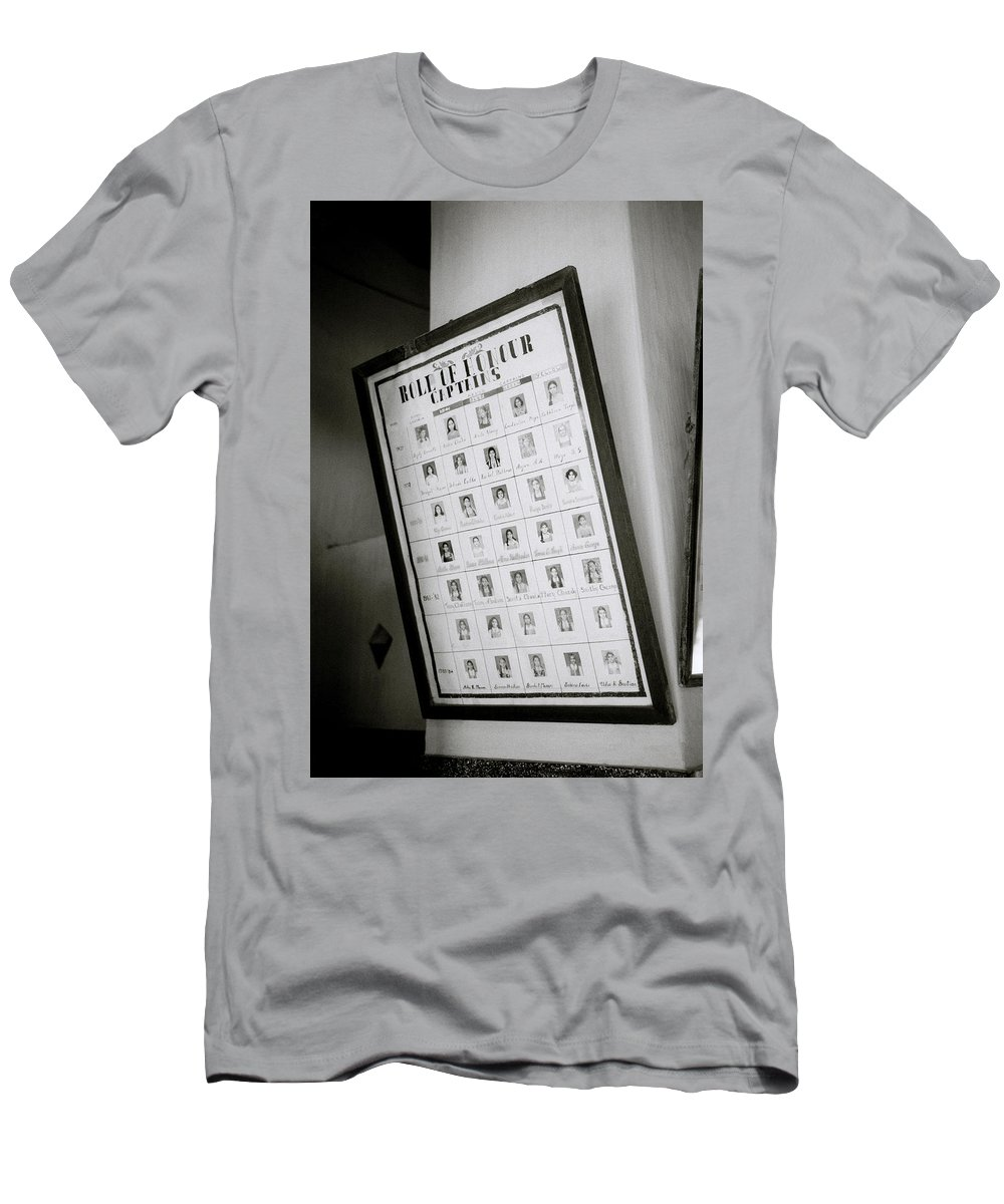 India Men's T-Shirt (Athletic Fit) featuring the photograph Roll Of Honour by Shaun Higson
