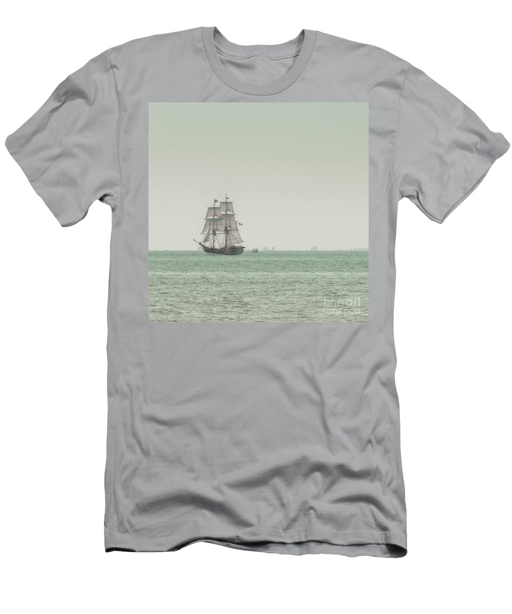 Art T-Shirt featuring the photograph Sail Ship 1 by Lucid Mood
