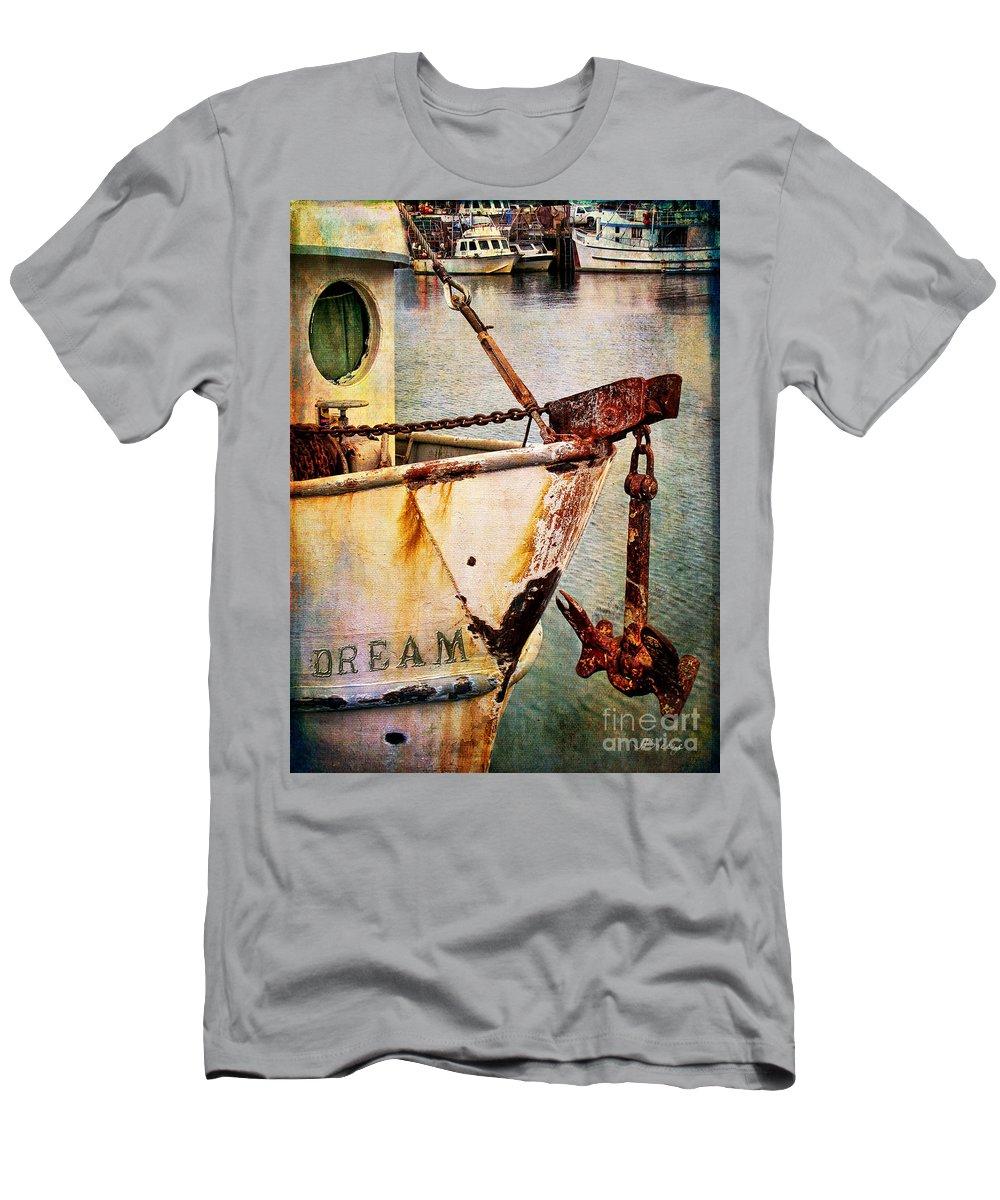 San Pedro Men's T-Shirt (Athletic Fit) featuring the photograph San Pedro Dream by Jennie Breeze