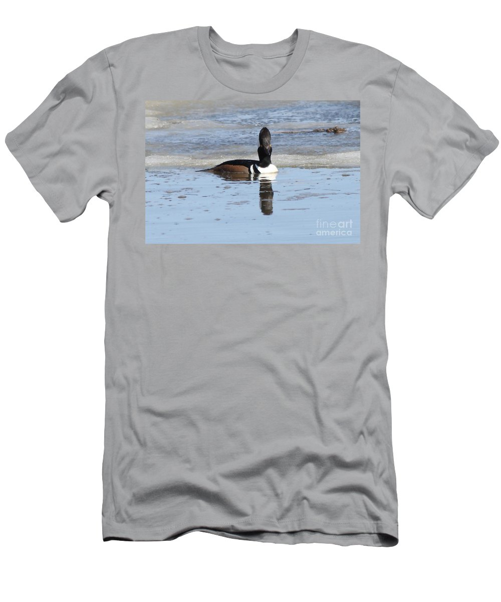 Hodded Men's T-Shirt (Athletic Fit) featuring the photograph Smile For The Camera by Lori Tordsen