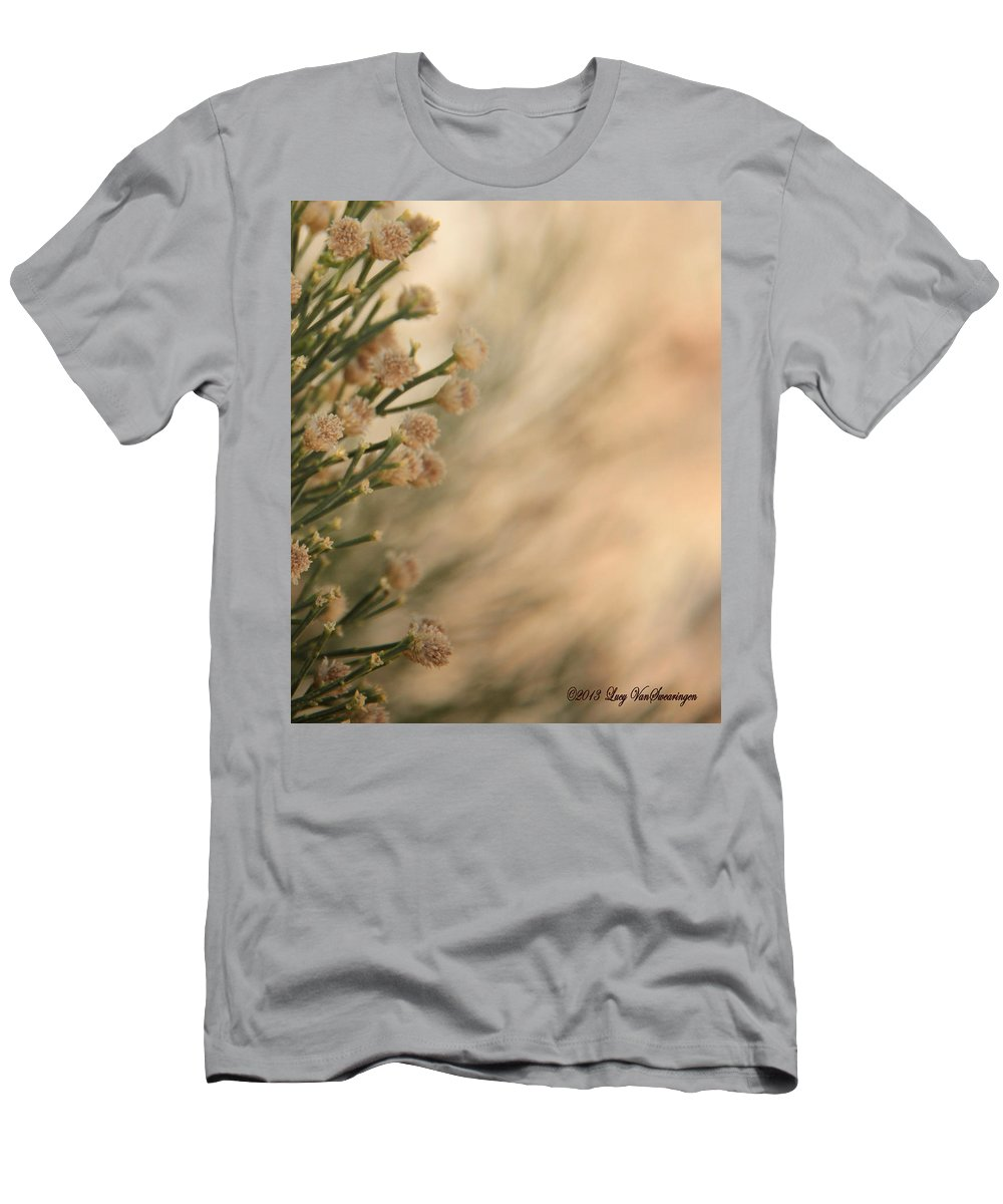 Soft T-Shirt featuring the photograph Softness In the Desert by Lucy VanSwearingen