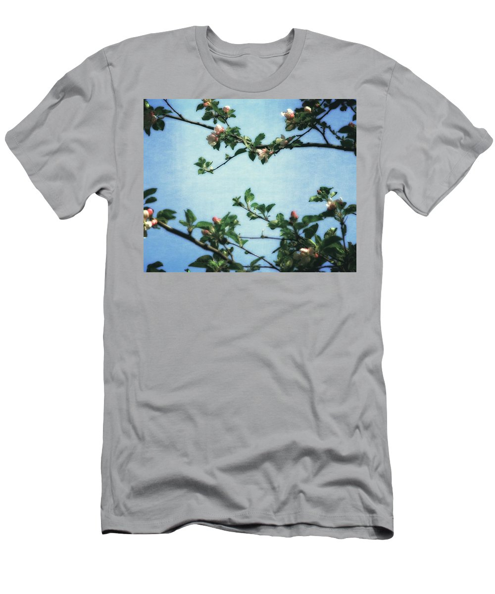 Spring Blossoms Men's T-Shirt (Athletic Fit) featuring the photograph Spring Blossoms 2.0 by Michelle Calkins