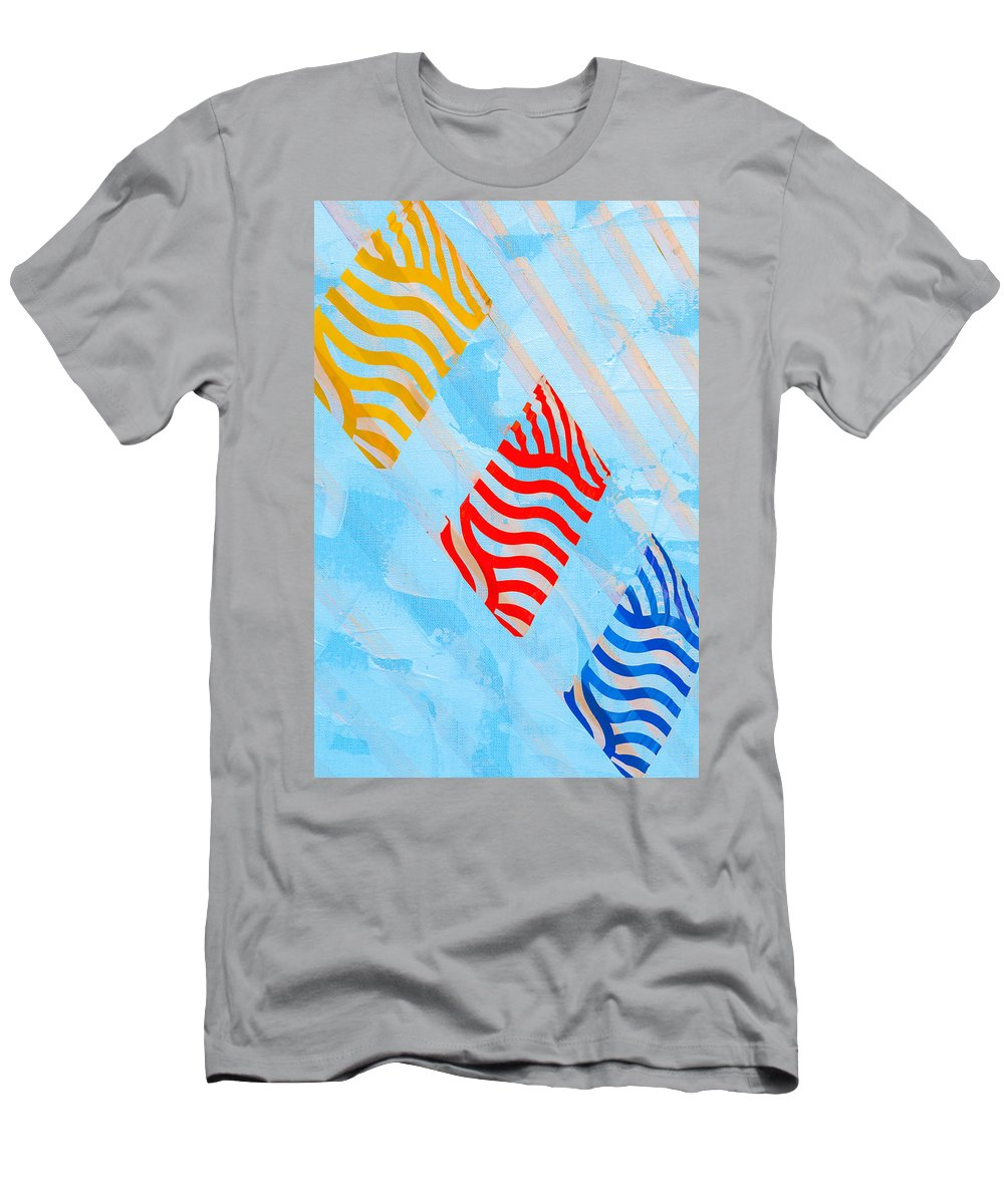 Abstract Men's T-Shirt (Athletic Fit) featuring the photograph Sunrise A by Alexander Senin
