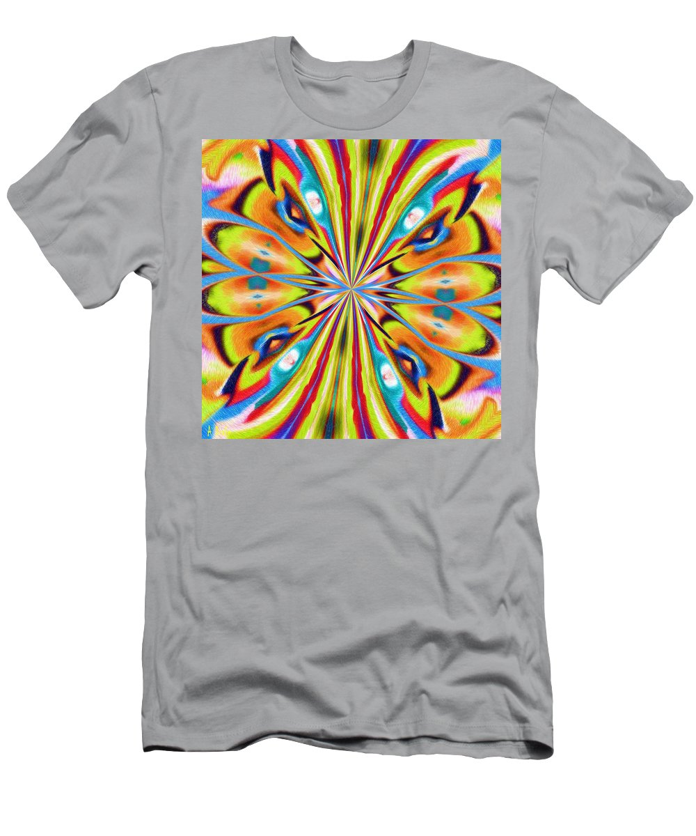 Butterfly Men's T-Shirt (Athletic Fit) featuring the digital art The Butterfly Effect by Alec Drake
