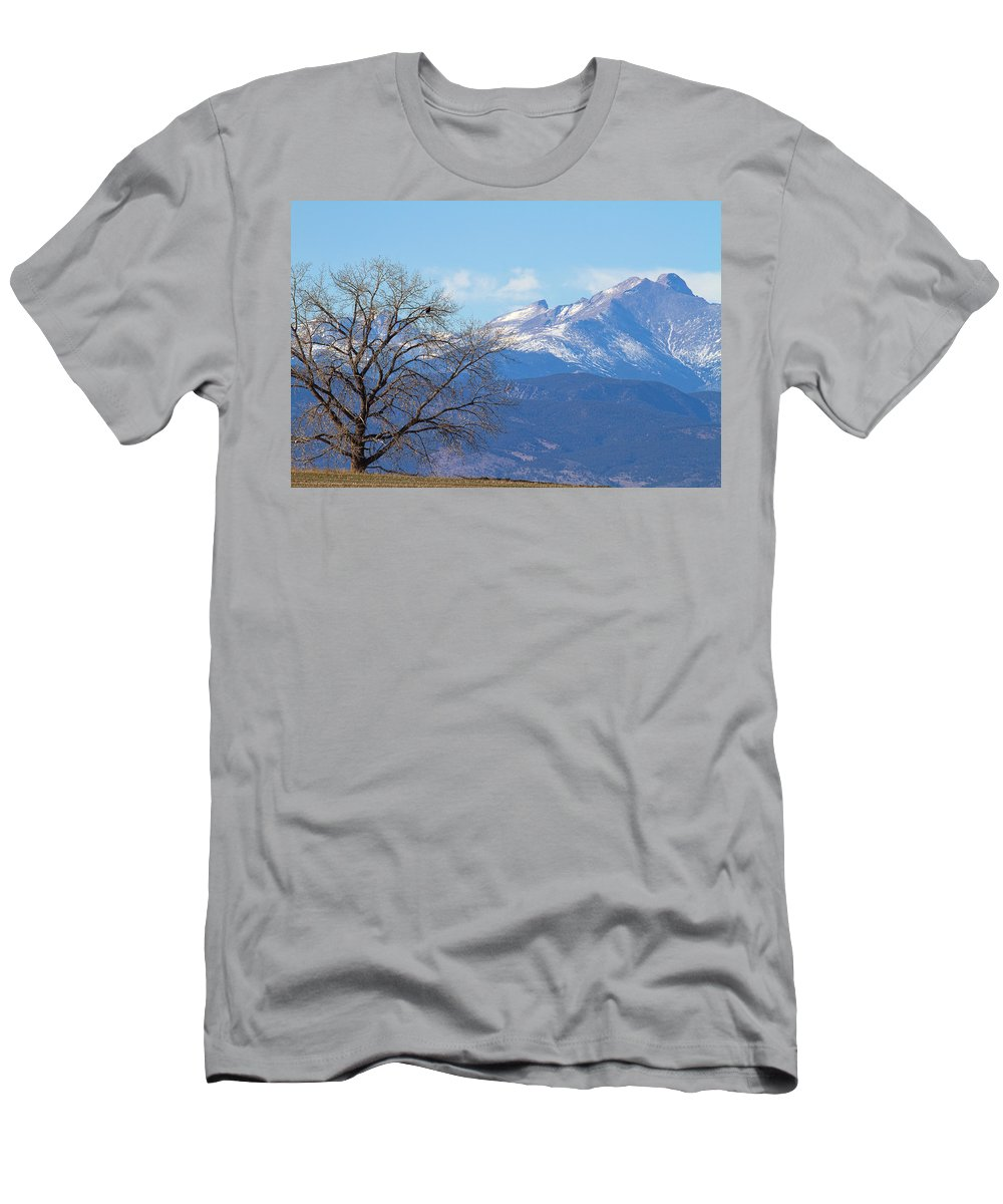Bald Eagle Photograph Men's T-Shirt (Athletic Fit) featuring the photograph The Eagle's View by Jim Garrison