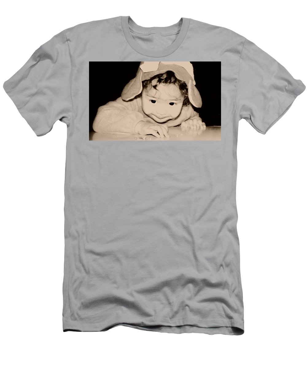 Children Men's T-Shirt (Athletic Fit) featuring the photograph The Little Gremlin by Jessica Shelton