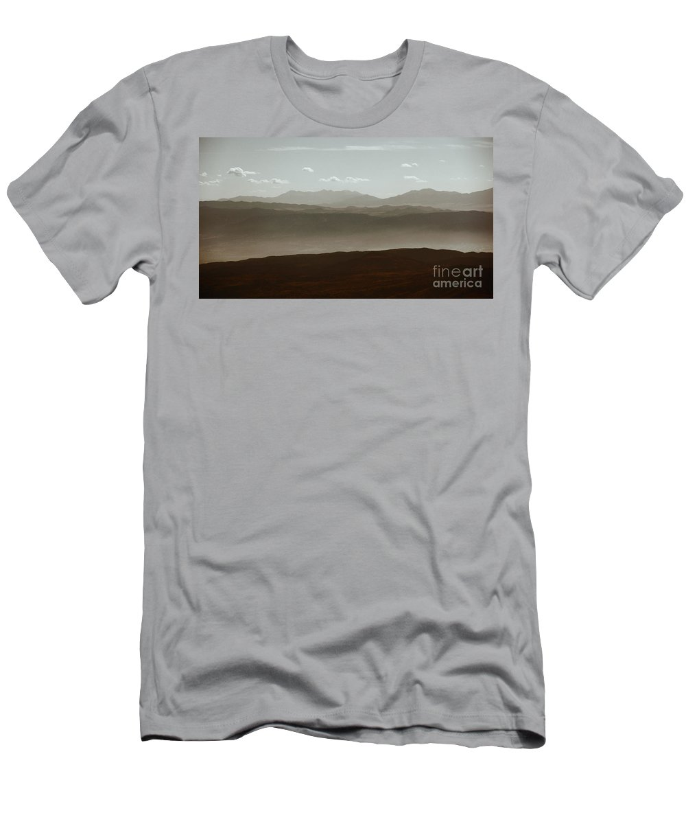 Colorado Men's T-Shirt (Athletic Fit) featuring the photograph The Other Side by Dana DiPasquale