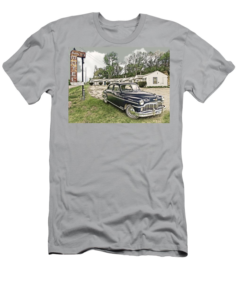 Rural Men's T-Shirt (Athletic Fit) featuring the photograph The Sunnyside by John Anderson