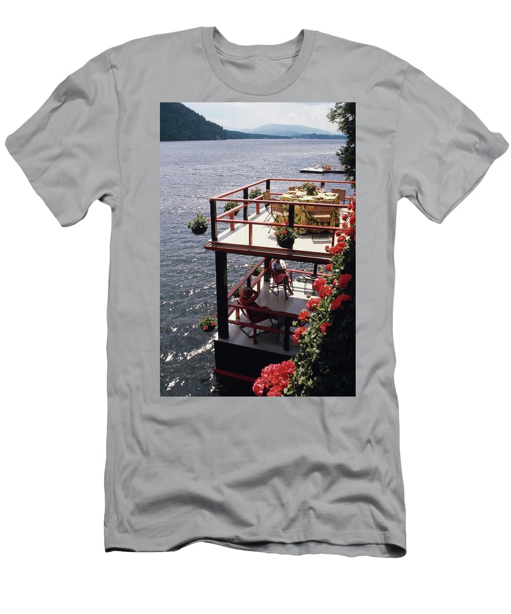 Home T-Shirt featuring the photograph The Wyker's Deck by Ernst Beadle