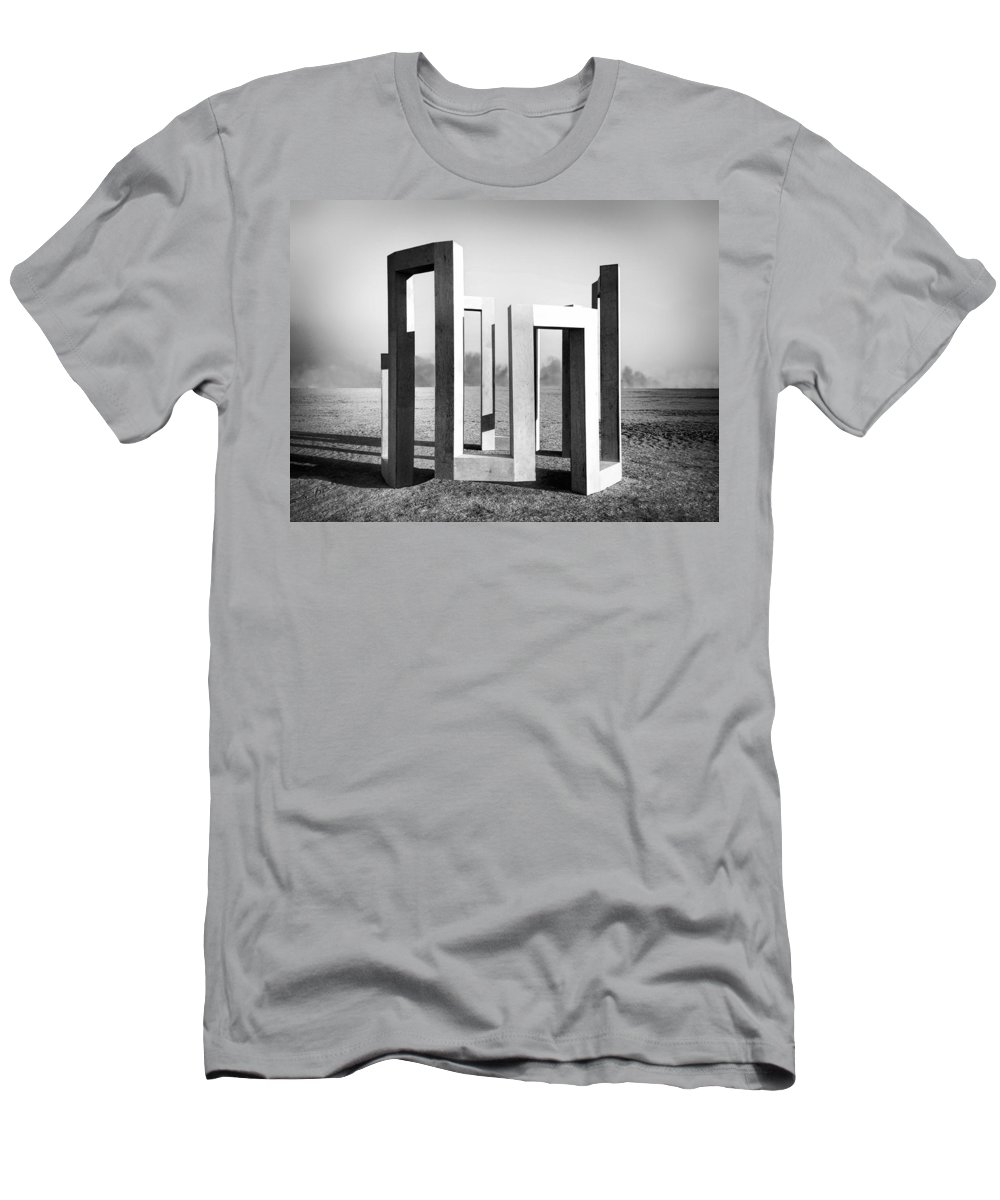 Theoretical Men's T-Shirt (Athletic Fit) featuring the photograph Theoretical Position by Dominic Piperata