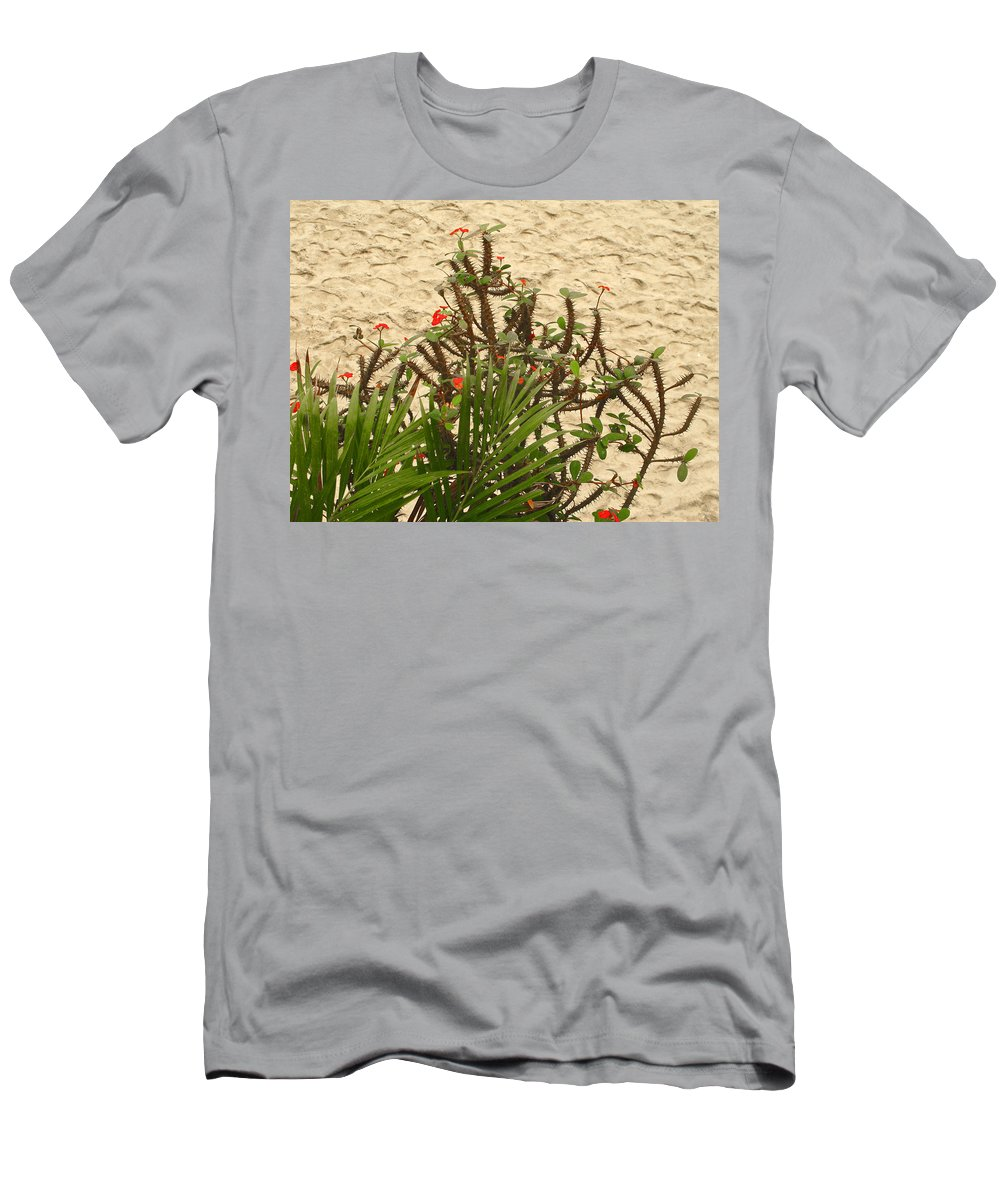 Thorns Men's T-Shirt (Athletic Fit) featuring the photograph Thorns by Pete Marchetto