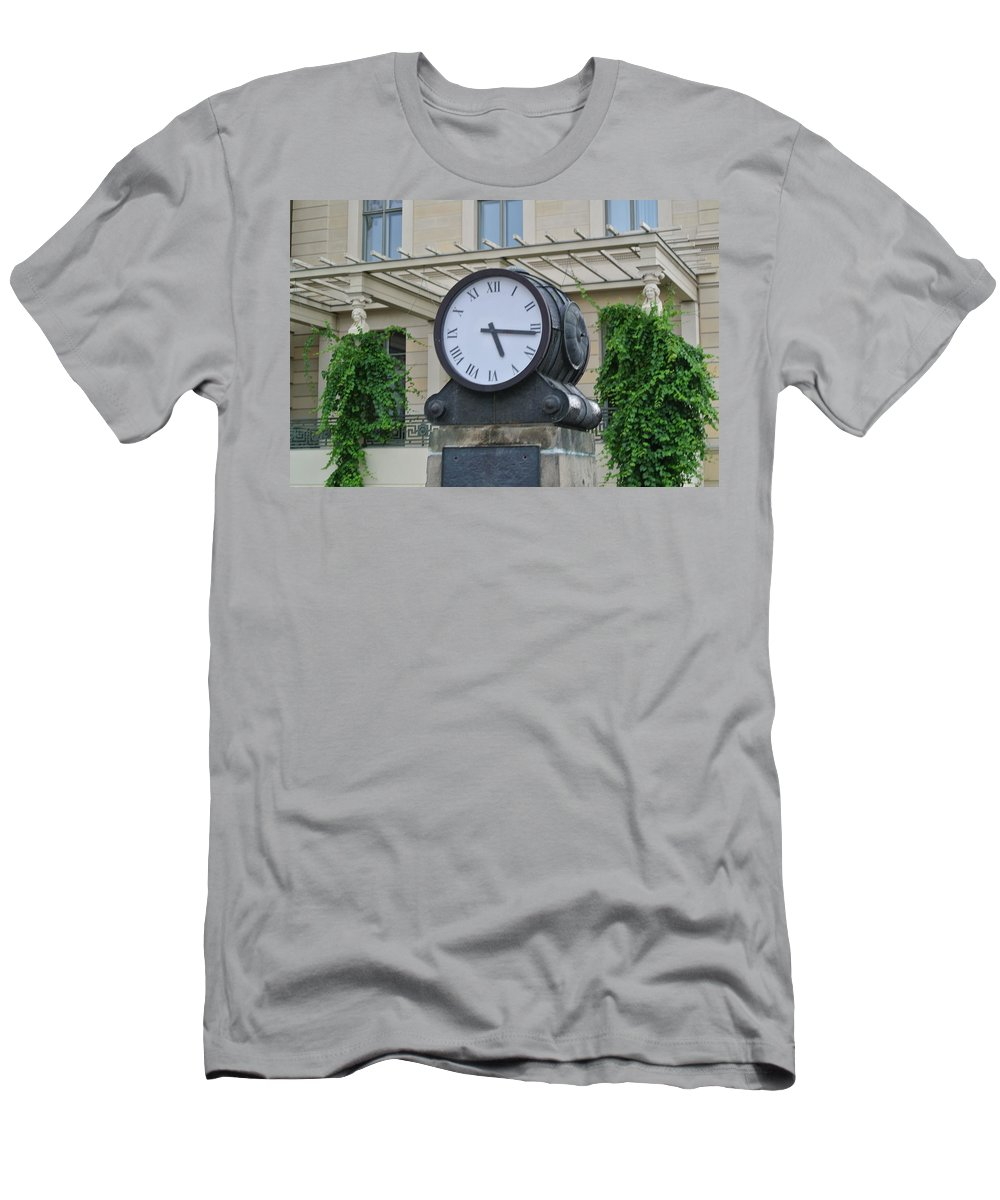 Cute Men's T-Shirt (Athletic Fit) featuring the digital art Time by Nathan Wright