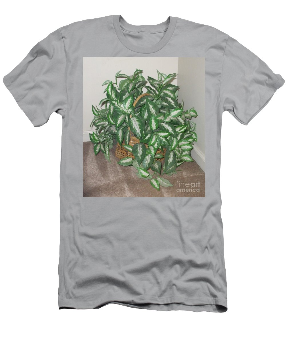 Plant T-Shirt featuring the photograph Towering Leaves by Pharris Art