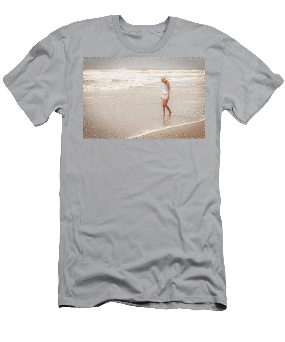 Landscape Men's T-Shirt (Athletic Fit) featuring the photograph Tranquility by Sennie Pierson