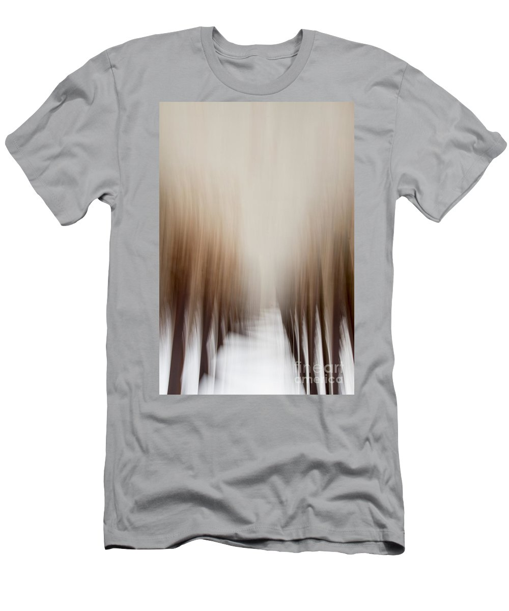 Tree Men's T-Shirt (Athletic Fit) featuring the photograph Trees In Winter by Margie Hurwich