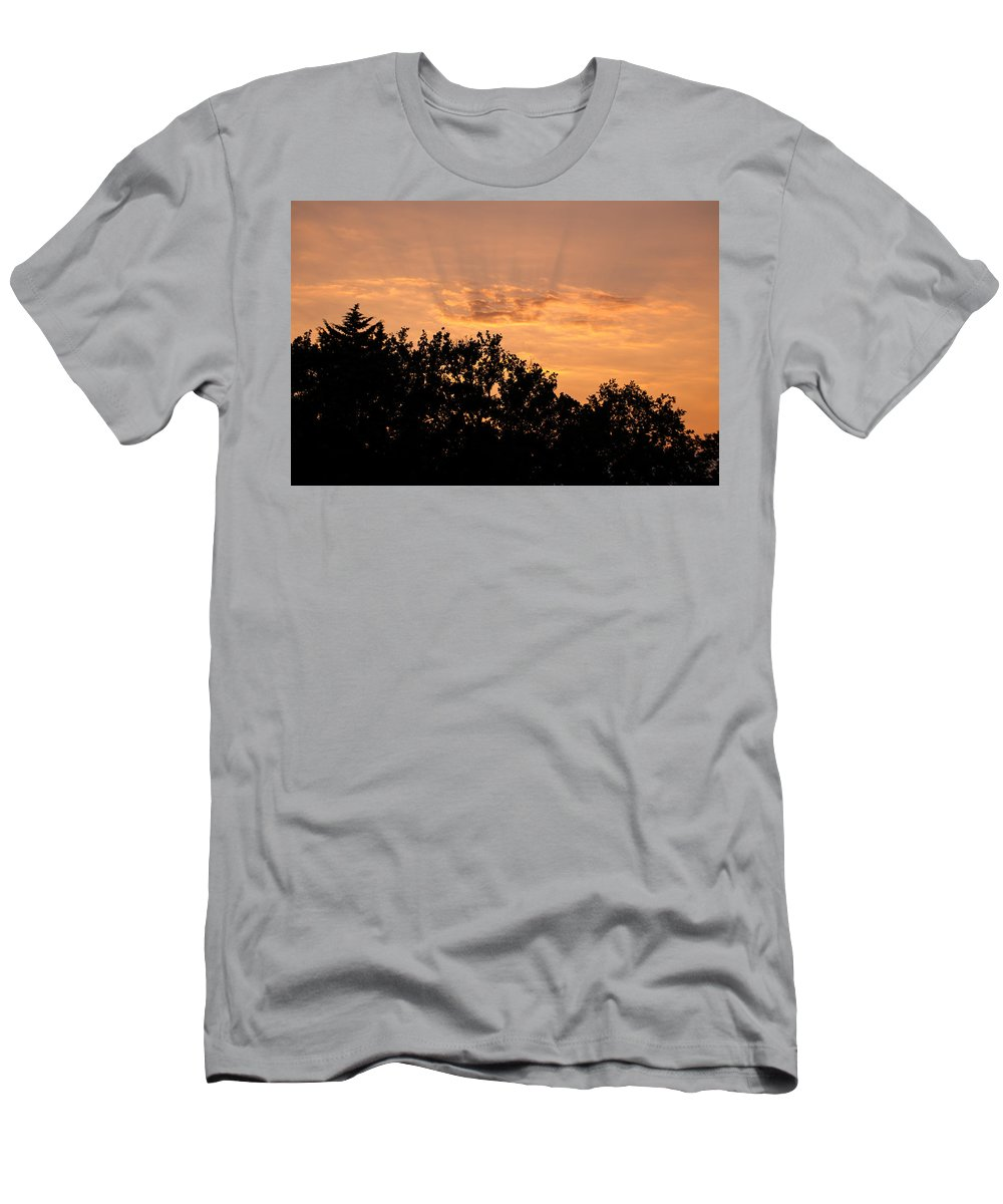 Landscape Men's T-Shirt (Athletic Fit) featuring the photograph Italian Landscape - Twilight Of The Gods 2 by Andrea Mazzocchetti