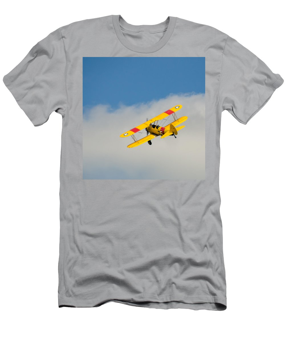 Aviation T-Shirt featuring the photograph Us Navy N2s-5 by Guy Whiteley