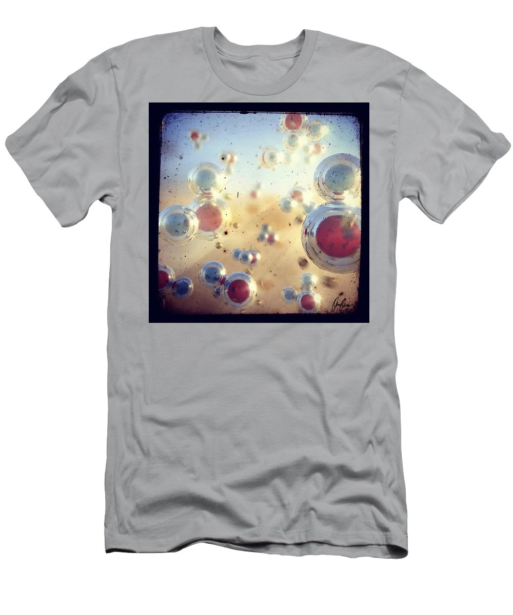 H2o Men's T-Shirt (Athletic Fit) featuring the digital art View Of H2o by Marcin and Dawid Witukiewicz