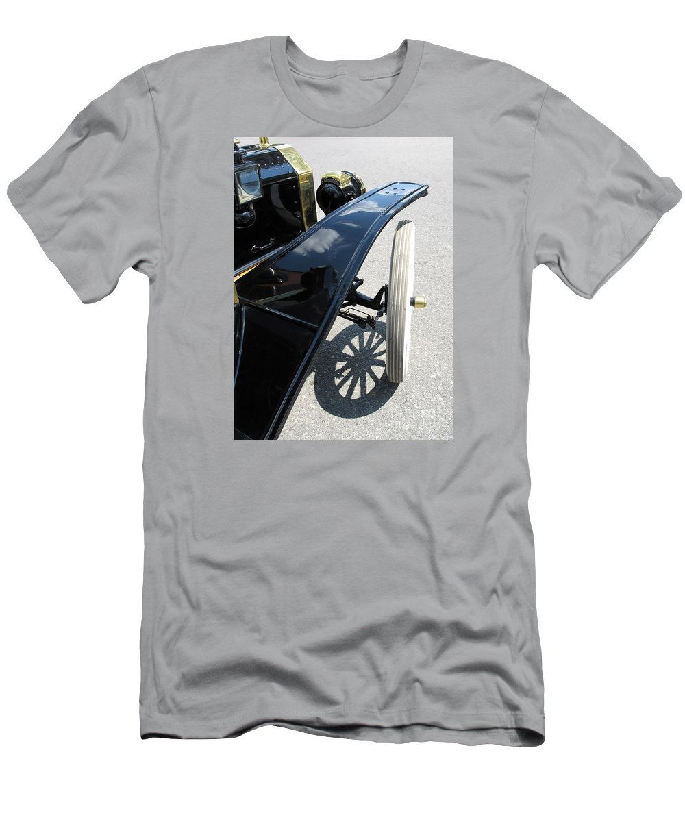 Model T Men's T-Shirt (Athletic Fit) featuring the photograph Vintage Model T by Ann Horn