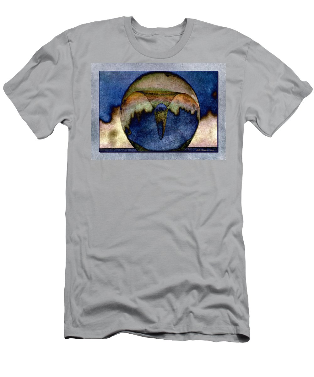 Vortex Men's T-Shirt (Athletic Fit) featuring the photograph Vortex by WB Johnston
