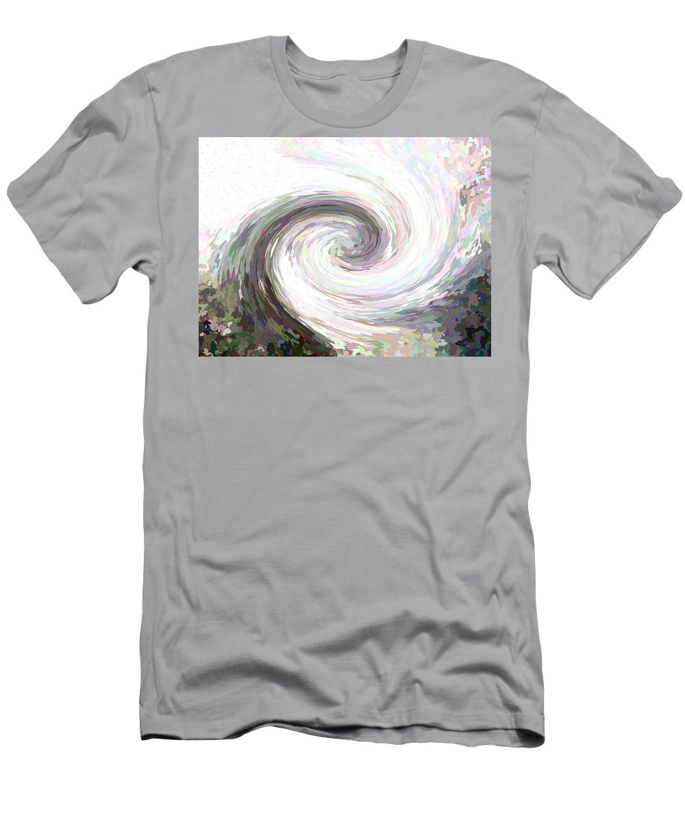 Style Men's T-Shirt (Athletic Fit) featuring the digital art Wash Out by April Patterson