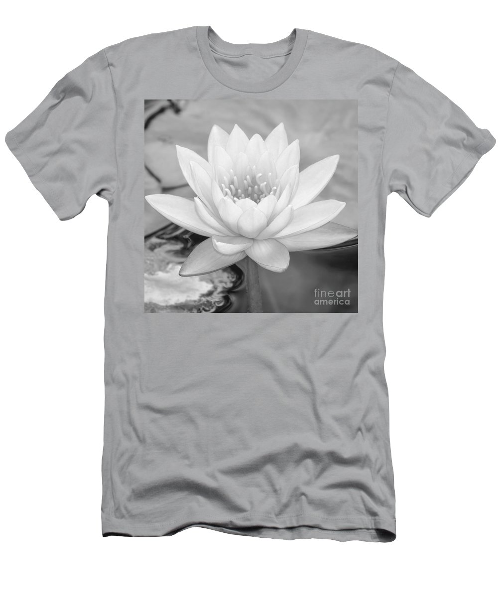 Landscape T-Shirt featuring the photograph Water Lily Square by Sabrina L Ryan