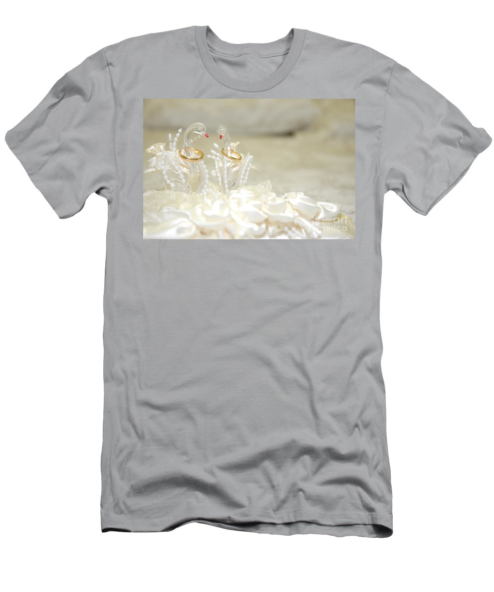 Wedding Men's T-Shirt (Athletic Fit) featuring the photograph Wedding Day by Antoni Halim