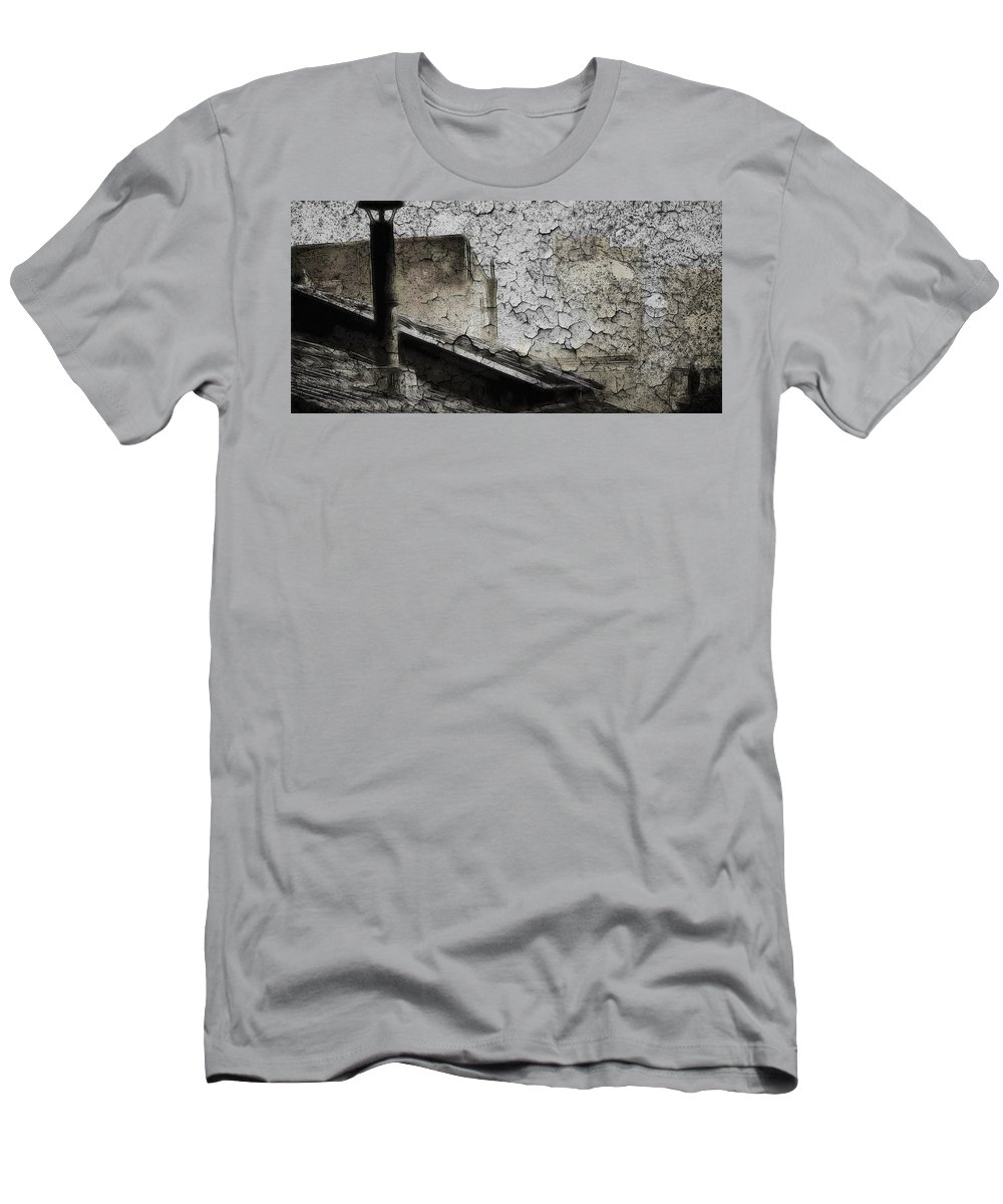 Men's T-Shirt (Athletic Fit) featuring the digital art When We Are Gone by Steve K