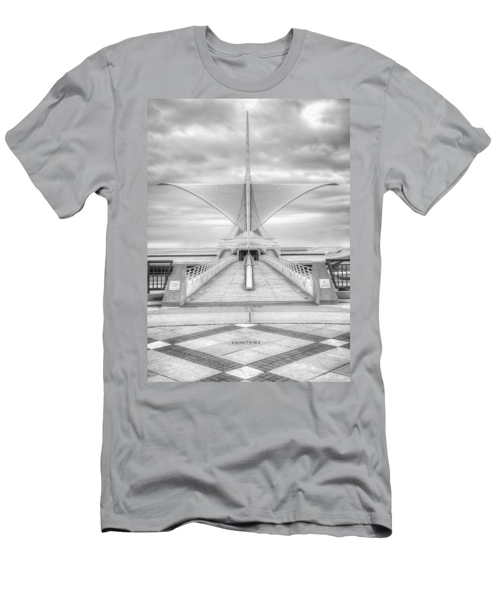 Milwaukee Men's T-Shirt (Athletic Fit) featuring the photograph Wing Span by Scott Norris
