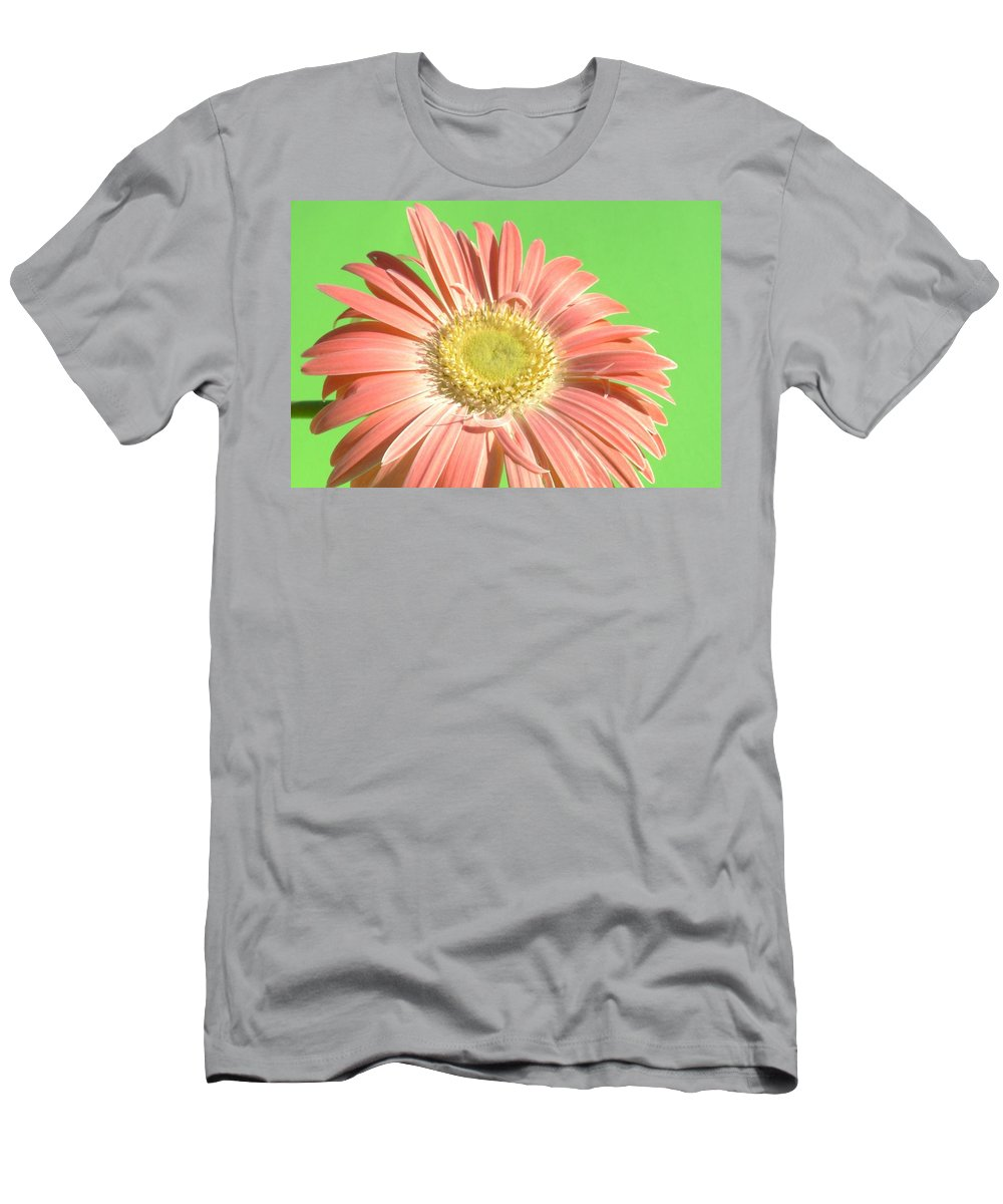 Gerbera Photographs Men's T-Shirt (Athletic Fit) featuring the photograph 0724c1-001 by Kimberlie Gerner