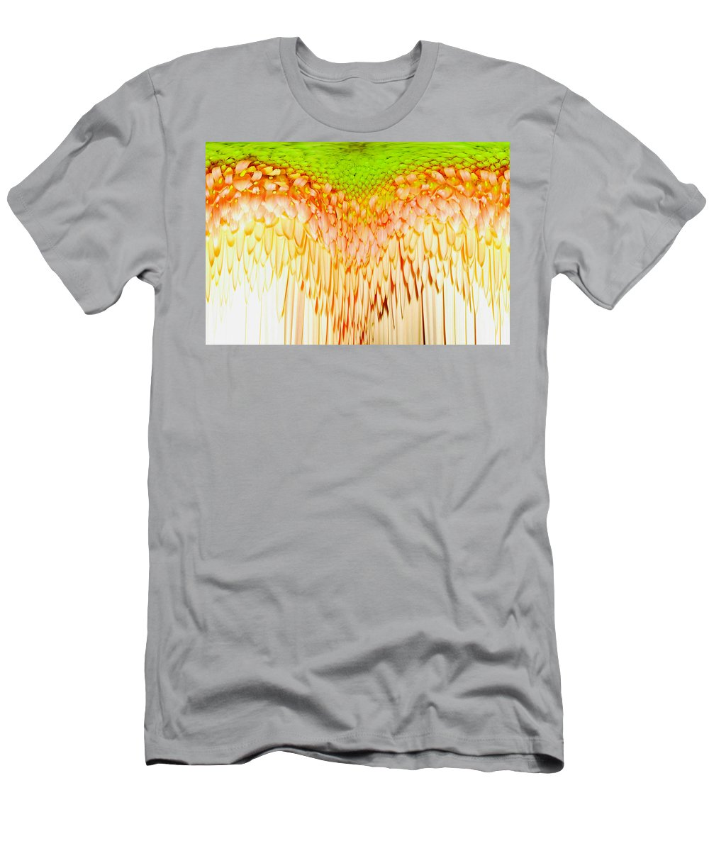Gerbera Photographs Men's T-Shirt (Athletic Fit) featuring the photograph 0814a4-5 by Kimberlie Gerner