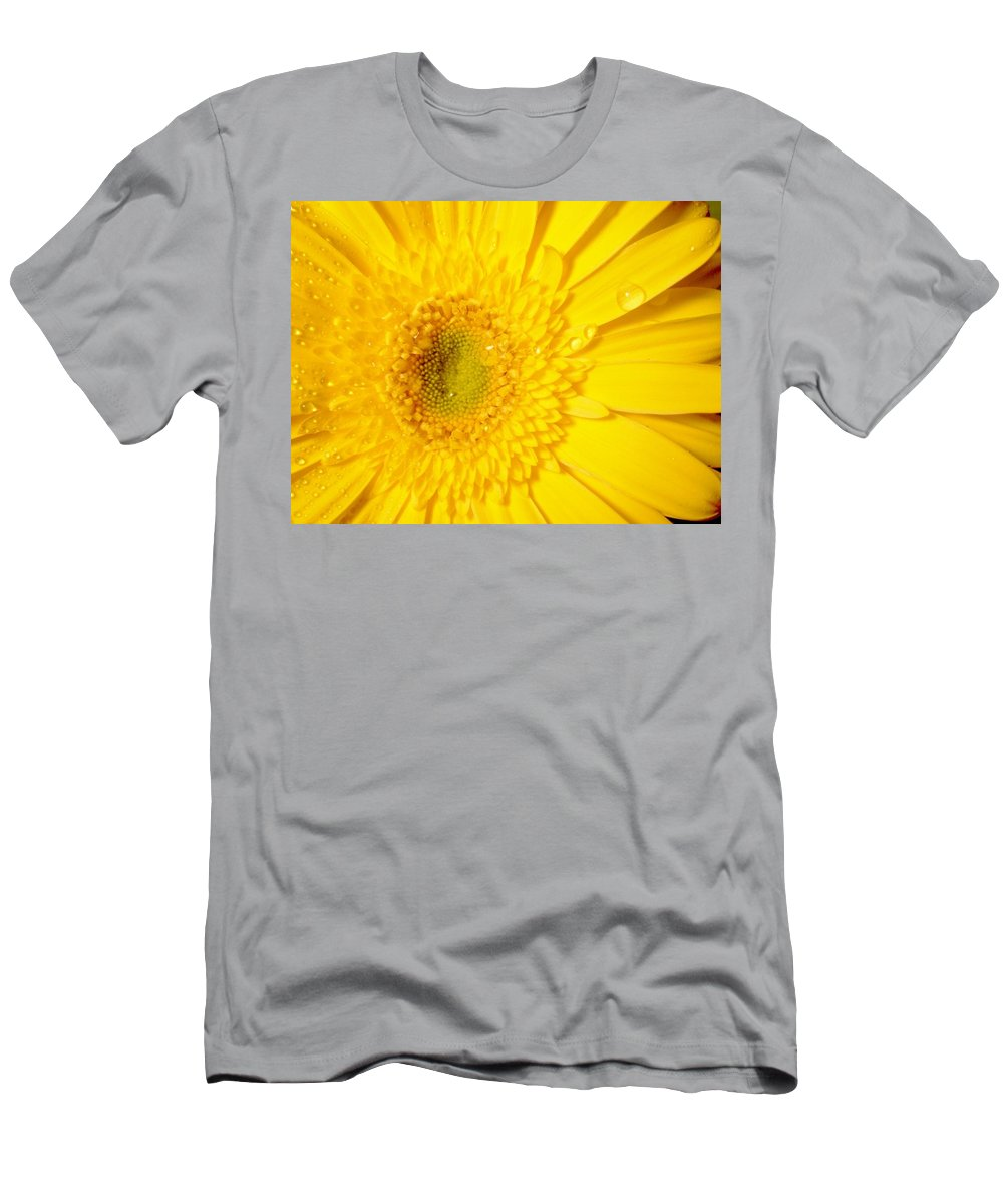 Gerbera Photographs Men's T-Shirt (Athletic Fit) featuring the photograph 0953c by Kimberlie Gerner