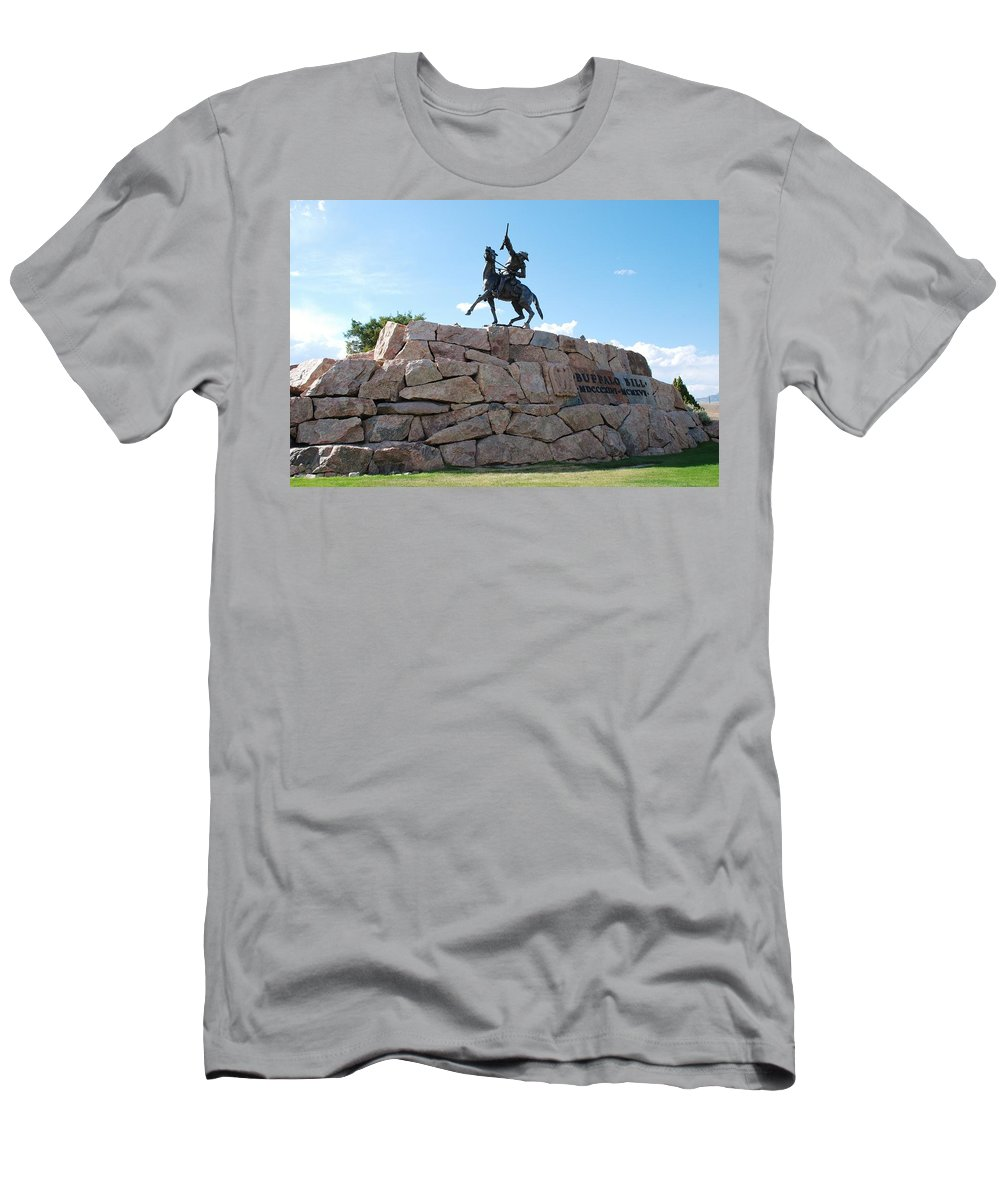 Baby-boomer Men's T-Shirt (Athletic Fit) featuring the photograph Buffalo Bill by Dany Lison