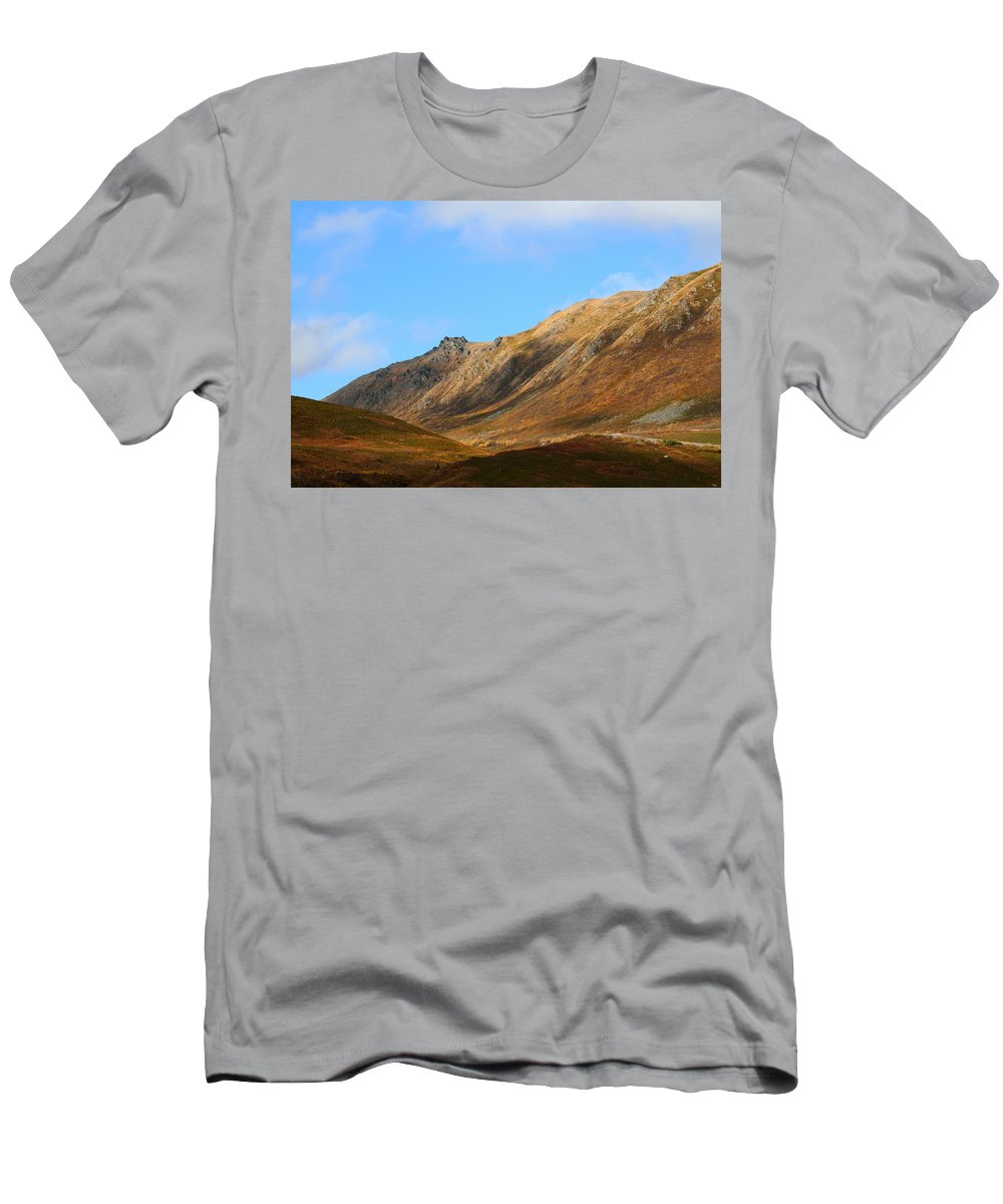 Doug Lloyd Men's T-Shirt (Athletic Fit) featuring the photograph Fall View by Doug Lloyd