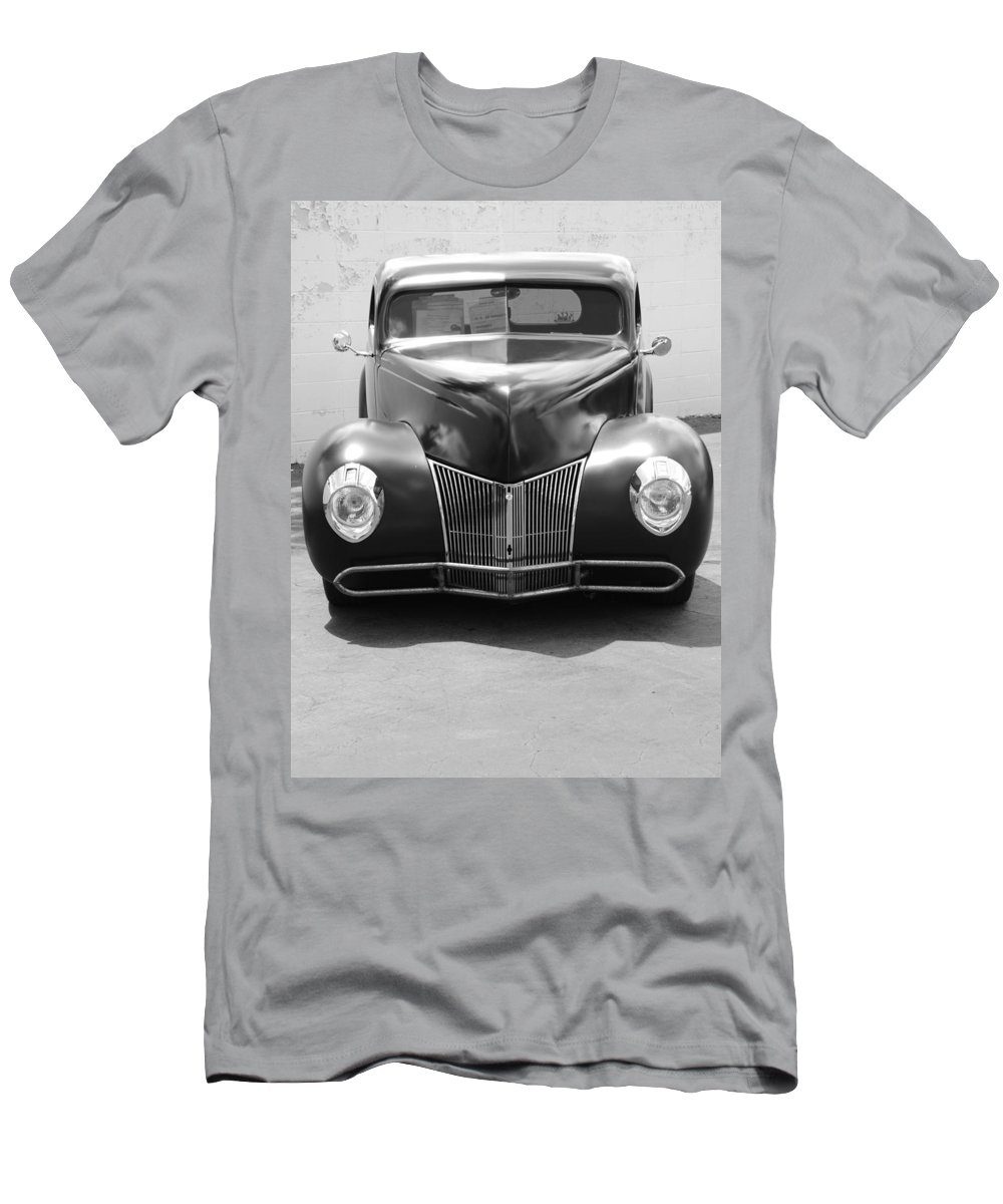 Hot Rod Men's T-Shirt (Athletic Fit) featuring the photograph Hot Rod Front by Rob Hans