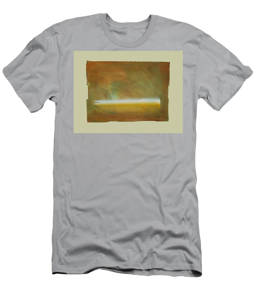 Tsunami Men's T-Shirt (Athletic Fit) featuring the painting Turner Tide by Charles Stuart