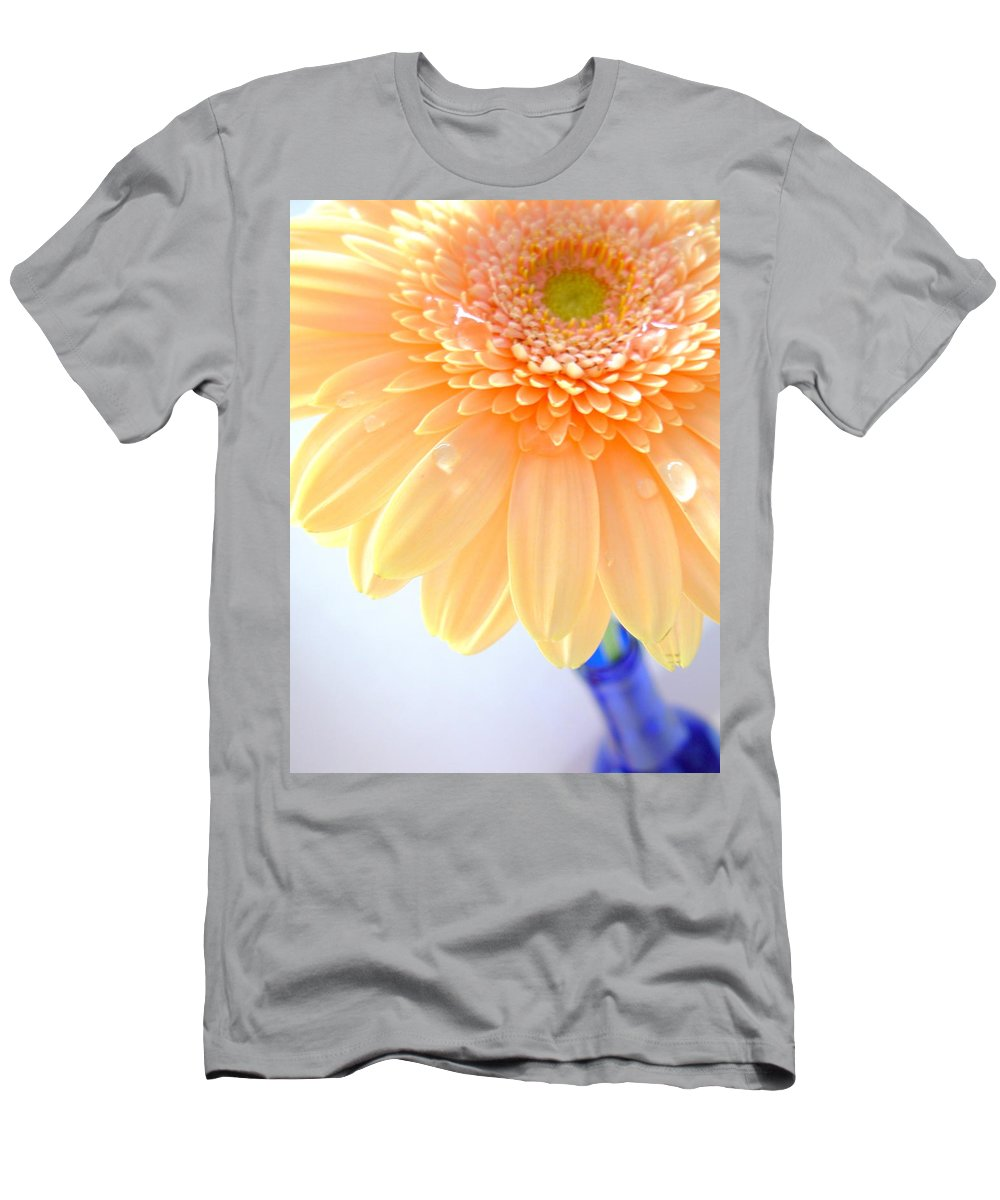 Gerbera Photographs Men's T-Shirt (Athletic Fit) featuring the photograph 1491-001 by Kimberlie Gerner